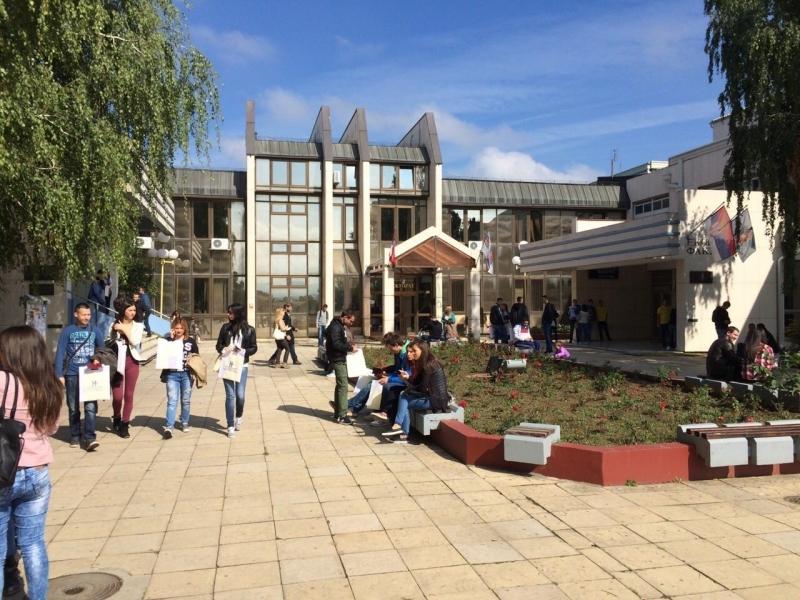 Počelo polaganje prijemnih ispita na kragujevačkom Univrezitetu