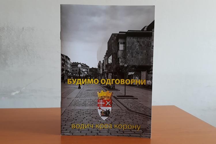 """Vodič kroz koronu """" Budimo odgovorni"""" stiže na adrese Kragujevčana"""