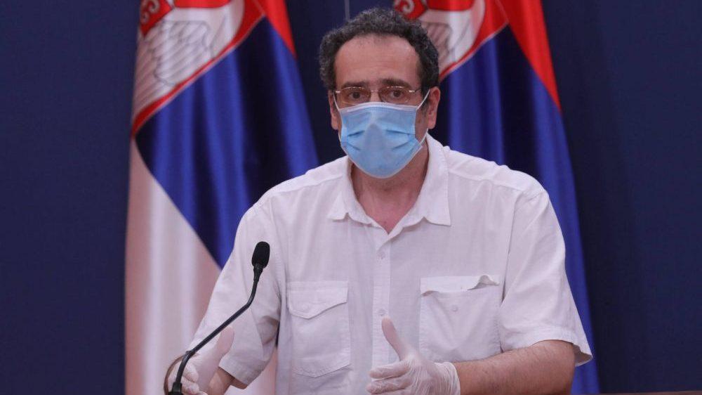 Srđa Janković: Veoma ozbiljna epidemiološka situacija u Srbiji