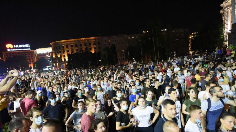 Ne davimo Beograd: Narod se spontano okupio