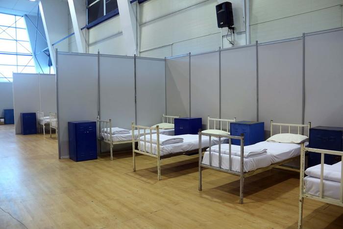 Kovid bolnica na Šumadija sajmu spremana za rad