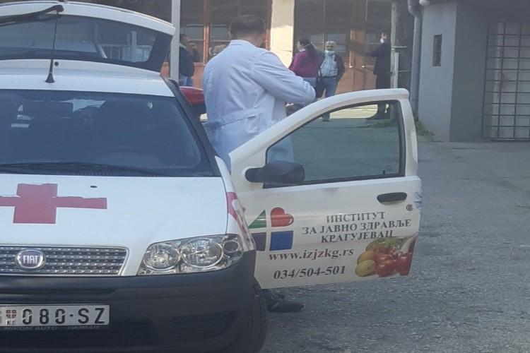 U Kragujevcu još 42 osobe zaražene korona virusom