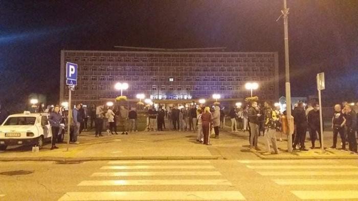 Protest sinoć i u Kragujevcu, najavljen novi za večeras
