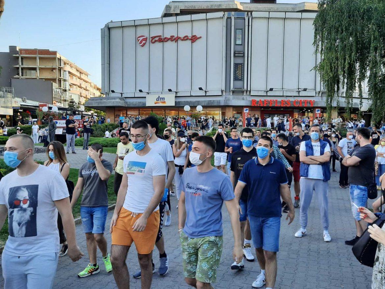 U Kraujevcu sinoć održan miran protest