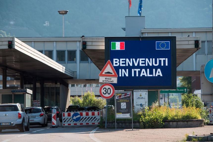 Italija zatvorila granice za građane Srbije i Crne Gore