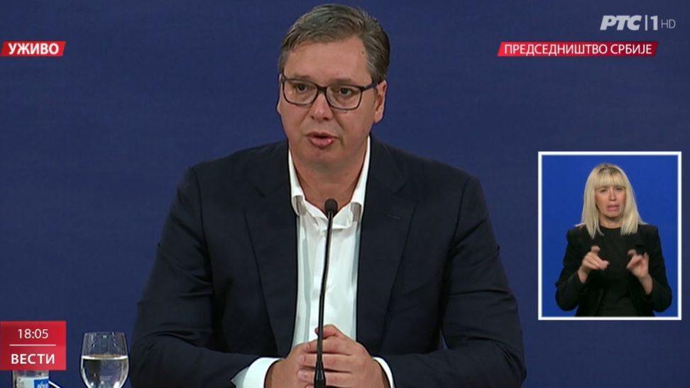 Vučić najavio policijski čas od petka