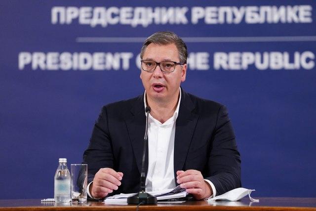 Vučić: Mogući parlamentarni izbori za godinu ipo dana