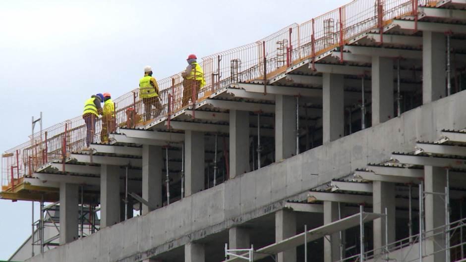 Radnici bez dozvole na gradilištu stanova za pripadnike snaga bezbednosti
