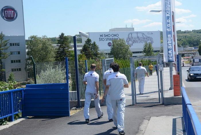 Fijat nastavlja proizvodnju u sredu 2. septembra