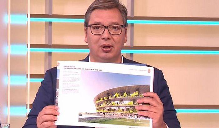 Vučić: Izgradnja nacionalnog stadiona nasušna potreba, neće biti ni malo jeftin