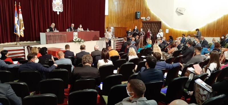 U Kragujevcu održana konstitutivna sednica gradskog parlamenta
