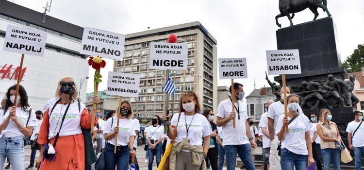 Turistički radnici protestovali, traže da im država pomogne