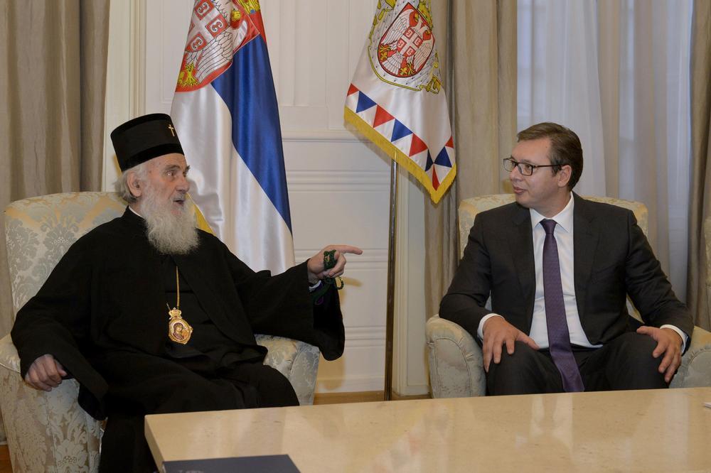 Susret Vučića i patrijarha Irineja