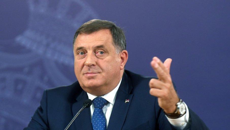 Dodik: Nema priznanja Kosova