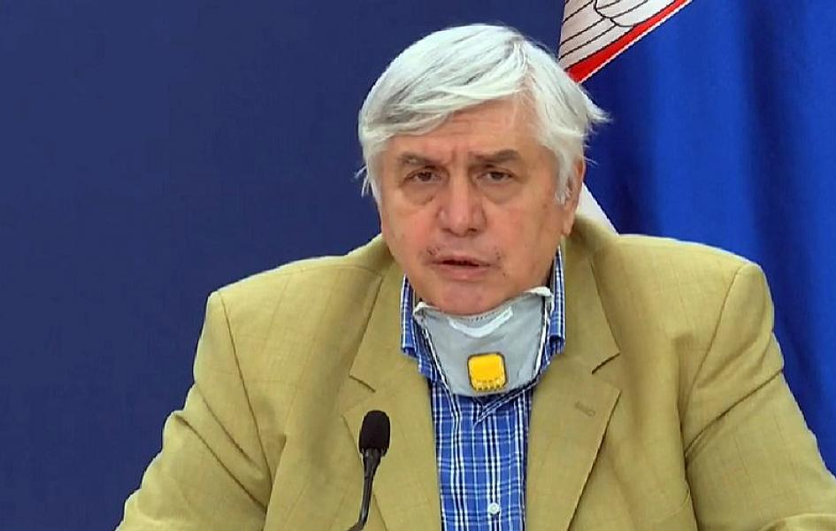 Tiodorović: Porast broja zaraženih u narednih 15 dana