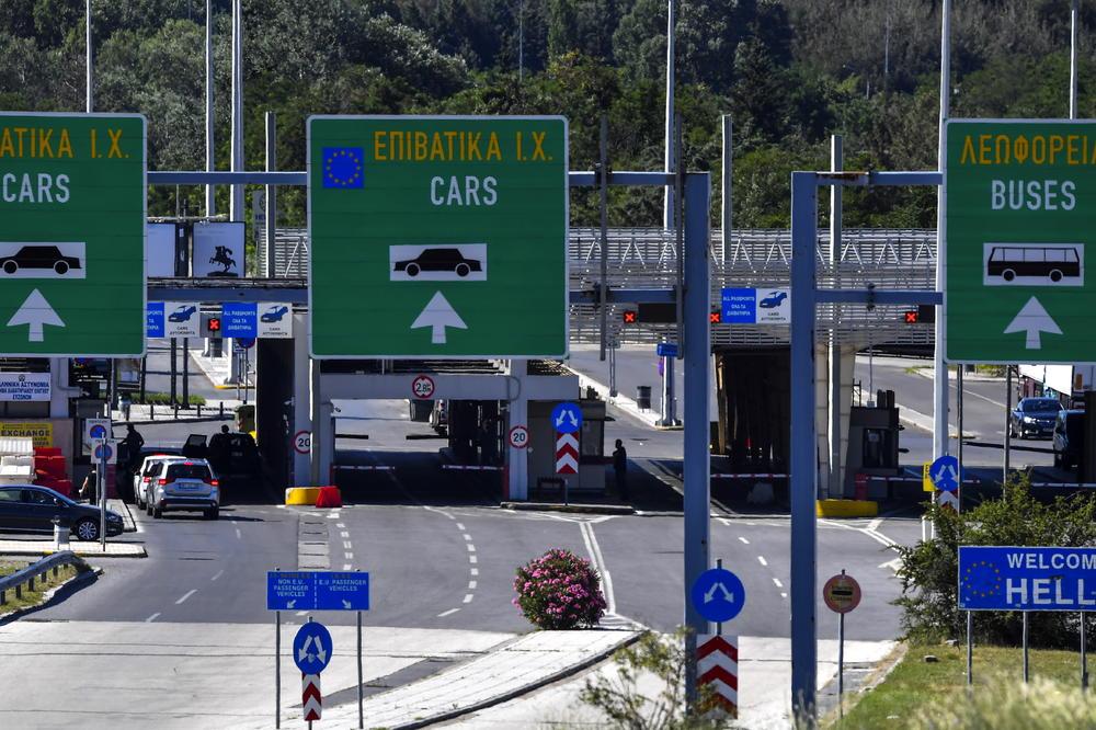 Zabrana ulaska u Grčku za građane Srbije