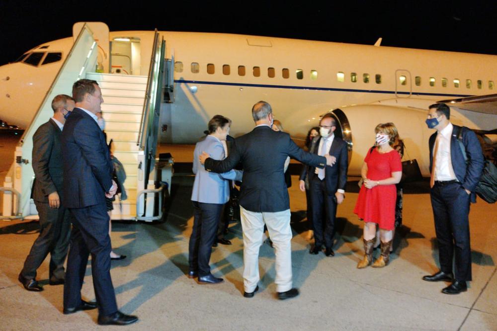 Delegacija SAD stigla u Beograd