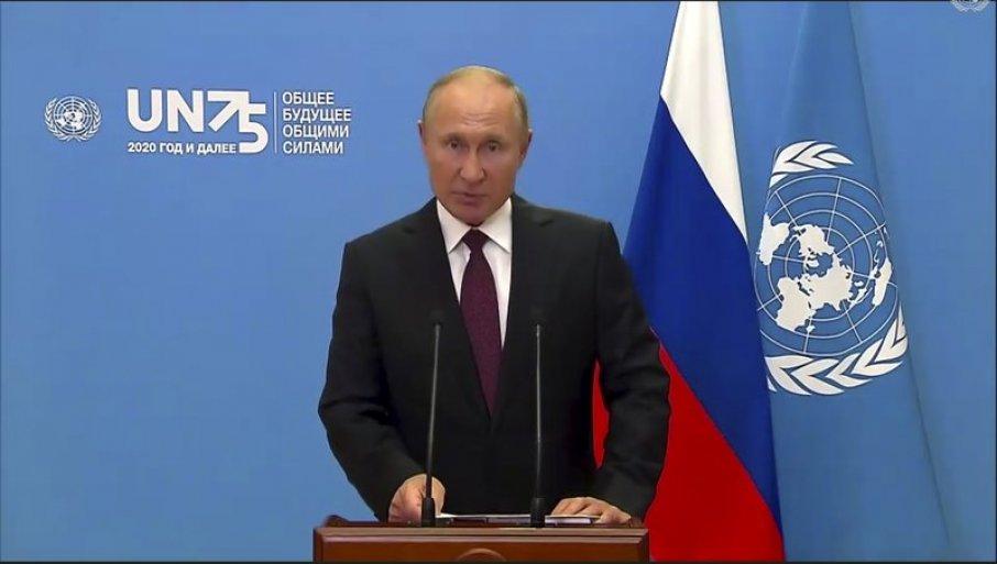 Putin ponudio osoblju UN besplatno vakcinisanje