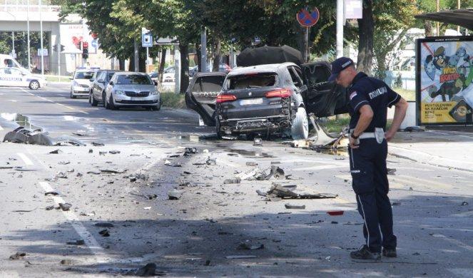 Preminuo Strahinja Stojanović koji je danas teško povredjen u eksploziji džipa