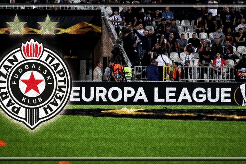 Partizan u trećem kolu za Ligu Evrope