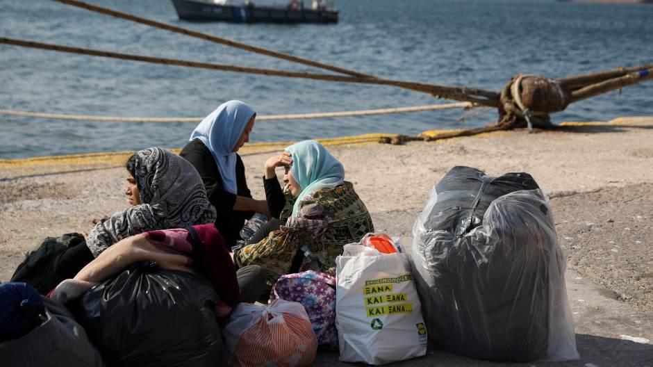 Nemačka planira da primi 1.500 migranata sa grčkih ostrva