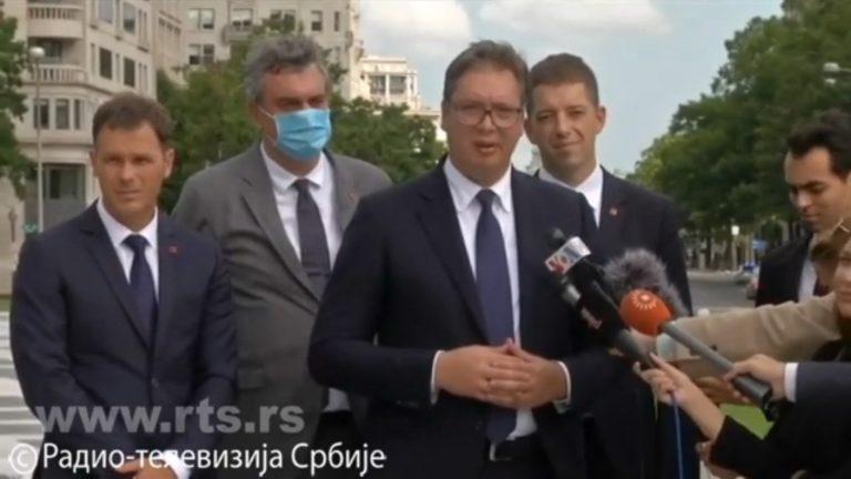 Vučić: Nema više tačke o međusobnom priznanju