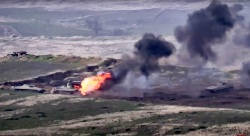 Jermenija proglasila ratno stanje stanje i opštu mobilizaciju