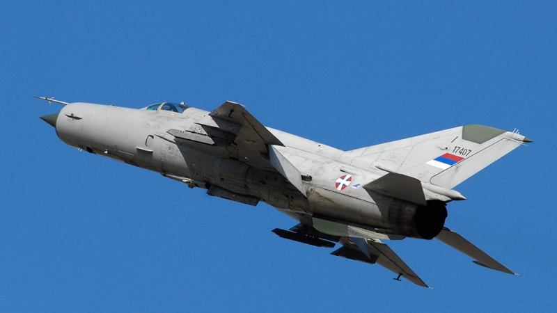Srušio se MiG-21 kod Malog Zvornika