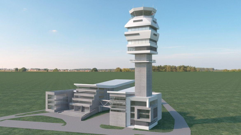 """U toku izgradnja novog kontrolnog tornja na Aerodromu """" Nikola Tesla"""""""
