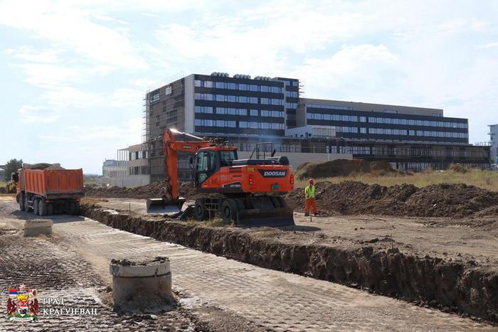 Kragujevac: Završetak izgradnje Palate pravde pre roka