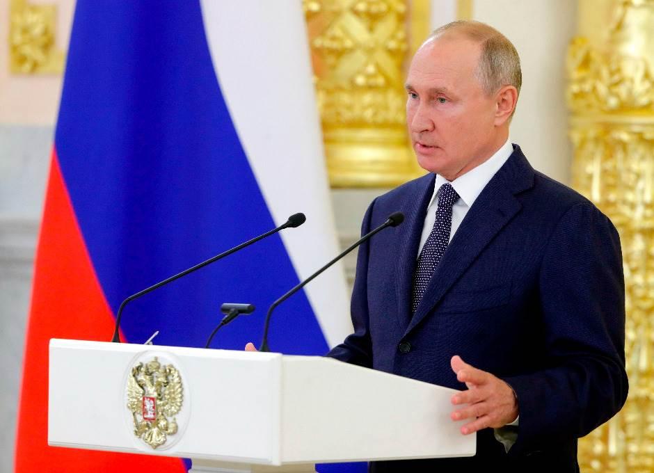 Putin nominovan za Nobelovu nagradu za mir