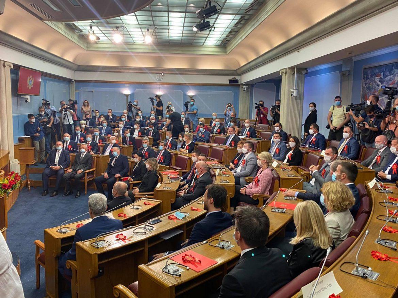 Danas konstitutivna sednica u crnogorskom parlamentu