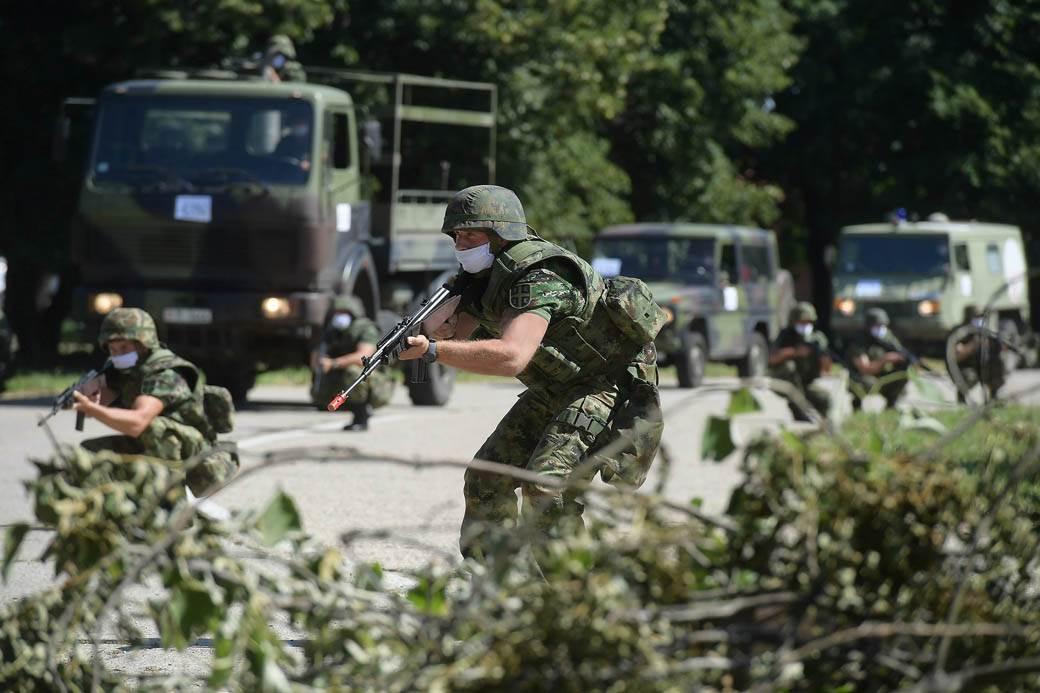 Vojne vežbe sa partnerima zamrznute, odluka Vlade Srbije