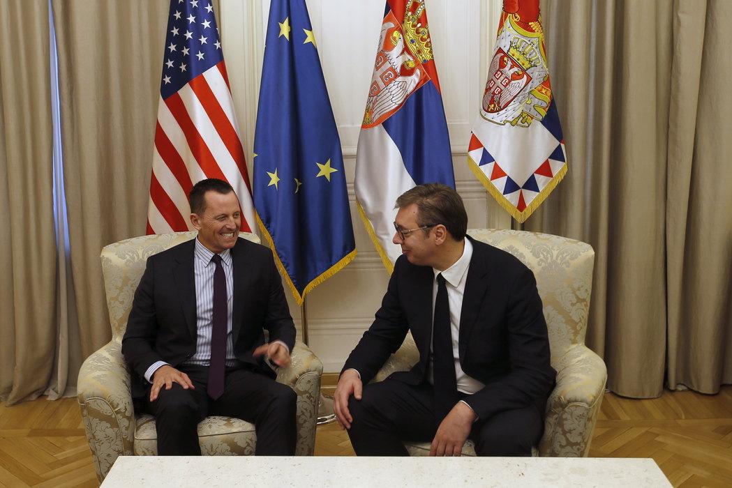 Danas razgovor Grenel-Vučić