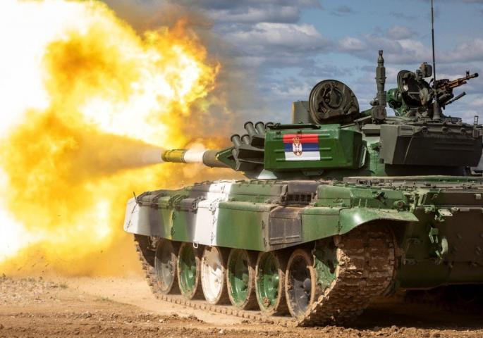 Vulin: Srbija tenkovska sila