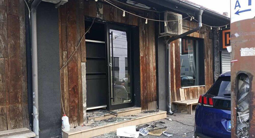Bomba ubačena u restoran u centru Beograda