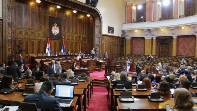 Iazbrani predstavnici odbora u Skupštini Srbije