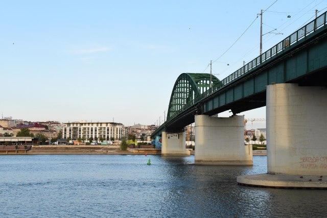 Beograd: Savski most na Paliluli