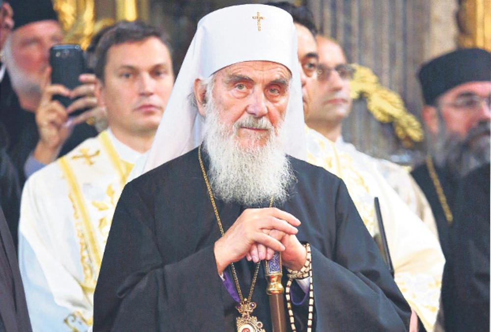 Irinej služi liturgiju u Podgorici