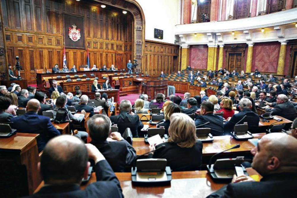Danas Sednica Skupštine Srbije, bira se novo rukovodstvo