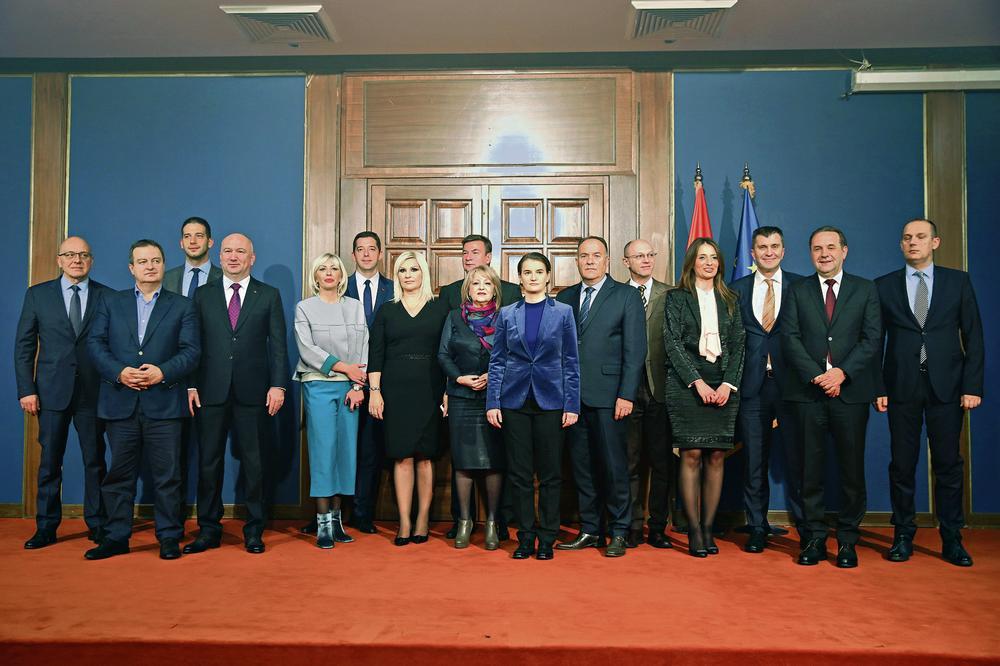Saopštena većina imena ministara u budućoj Vladi Srbije