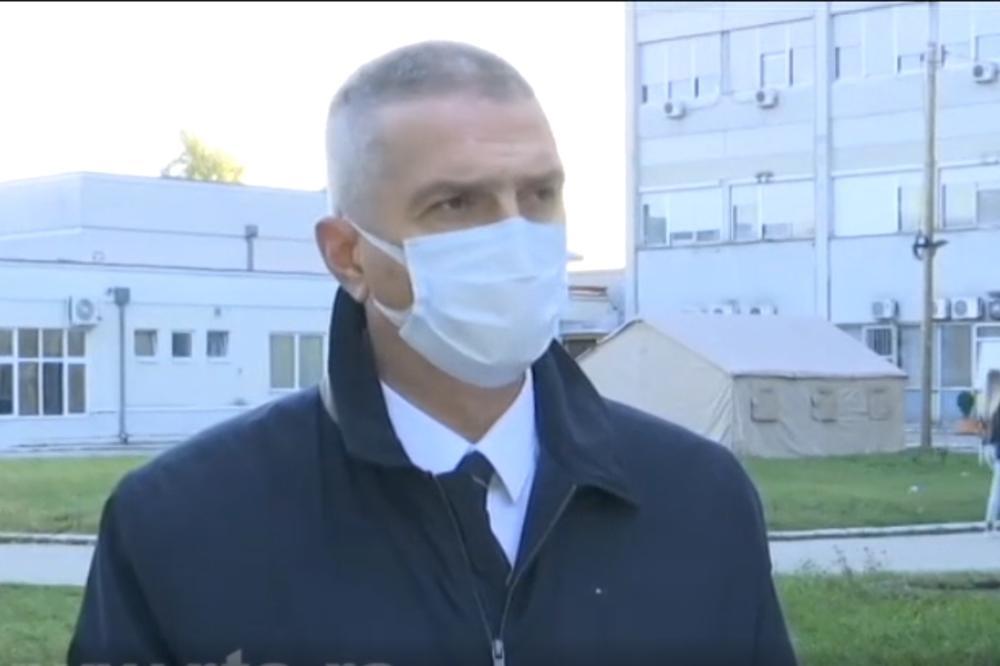 Direktor KC Kragujevac: Epidemija se budi