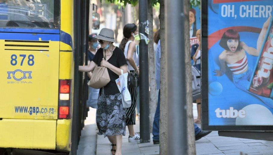 Nikodijević: Od sutra u Beogradu pojačana kontrola nošenja maski u javnom prevozu