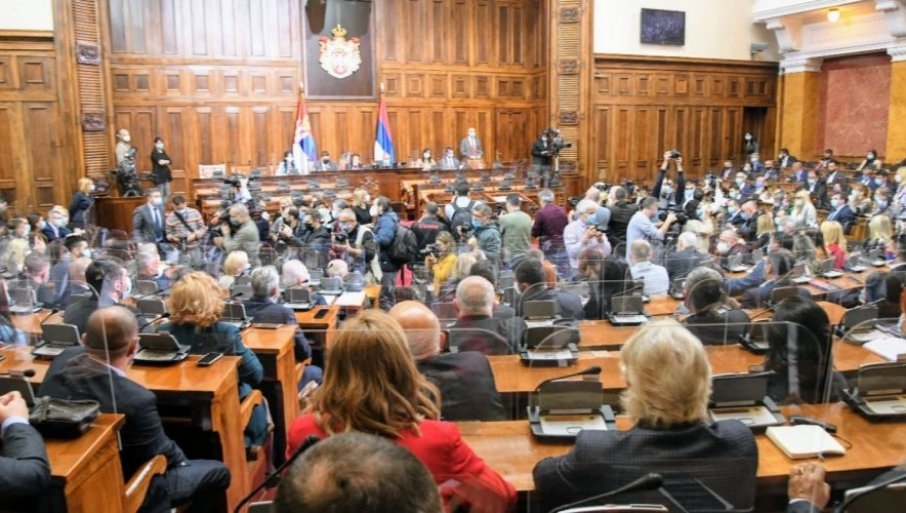 Sednica Skupštine Srbije 26. oktobra, na dnevnom redu predlog zakona o ministarstvima