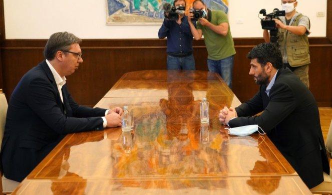Vučić se odvojeno sastao sa Šapićem i Dačićem