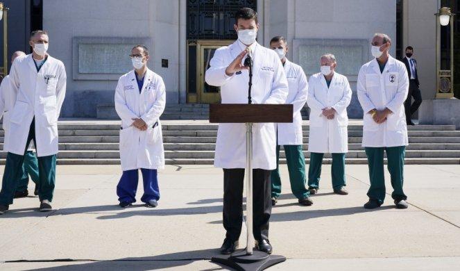 Lekari: Tramp bi sutra mogao da izadje iz bolnice