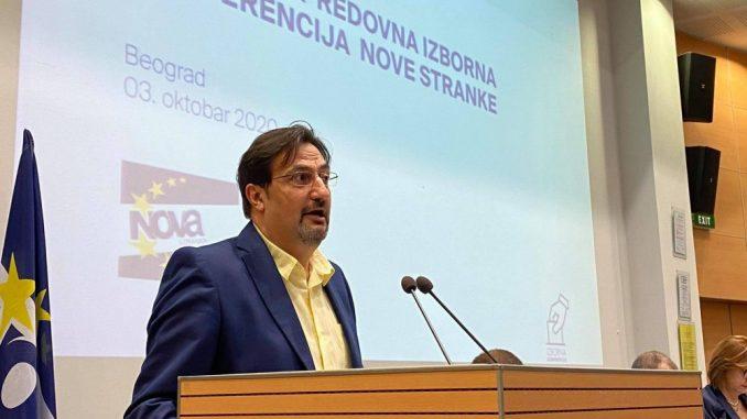 Movsesijan predsednik novi predsednik Nove stranke