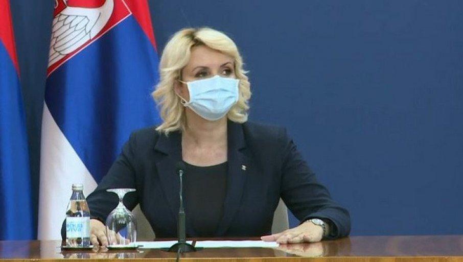 Kisić Tepavčević: Svakog dana veći broj novozaraženih