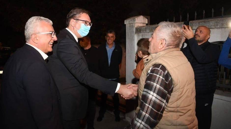 Vučić razgovarao sa liderima Demokratskog fronta