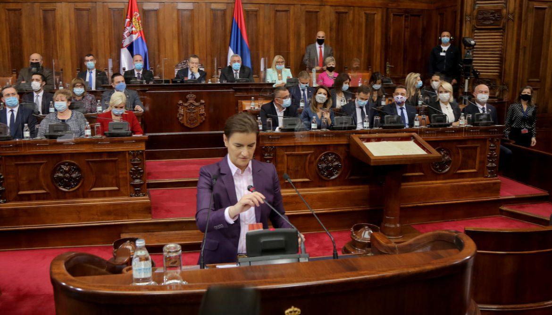 Ekspoze Ane Brnabić: Šest ciljeva Vlade